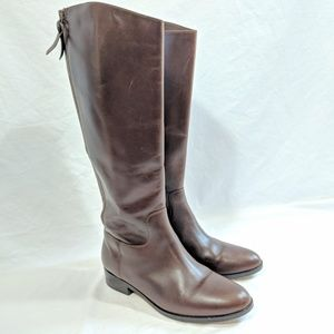 Cole Haan Tall Brown Leather Boots
